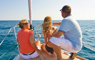 Exclusive sailing courses for all the family